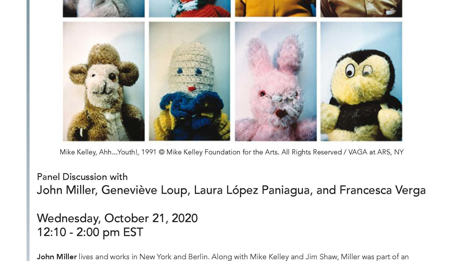 Mike Kelley: Matter, Memory and the Sublime